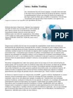 Acciones, bonos y Forex: