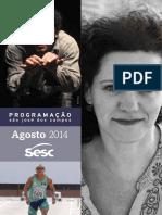 Programacao Sesc SJC - Agosto - Issuu