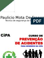 CURSO DA CIPA - Curso de Preven o de Acidentes Par