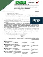 Subiect Si Barem LimbaRomana EtapaI ClasaIII 10-11