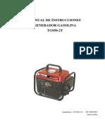 Manual Generador TG 950