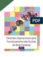 Diretrizes Operacionais 2016- paraíba