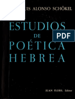 Schonkel - Estudios de Poetica Hebrea