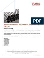 Welded Steel Tubes for Pressure Purposes en 10217 1
