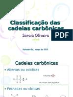 Cadeias Carbonicas