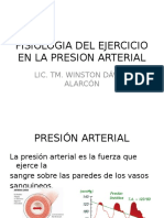 Clase Vi Fisiologia Del Ejercicio en La Presion Arterial