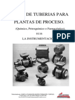 Curso de tuberías para plantas de proceso - 0116 Instrumentacion - Descripcion