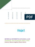 Practicas de Excel