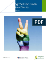 gender and sexual diversity