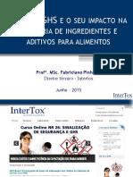 O Que e GHS e o Seu Impacto Na Industria de Ingredientes e Aditivos Para Alimentos Fabriciano Pinheiro-Intertox