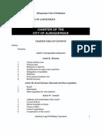 Albuquerque City Charter