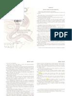 El Kahal y Oro - Hugo Wast