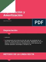 Depreciacion y Amortización