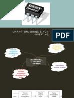 Op-Amp (Inverting & Non-Inverting)