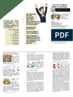Triptico Mesa Por El Desarrollo Humano Color Abril 2016 PDF