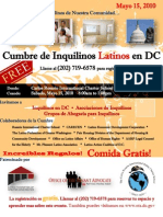 Latino Summit Flier (Spanish)