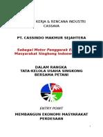 Sejarah Perusahaan Dan Program PT. Cassindo Makmur Sejahtera