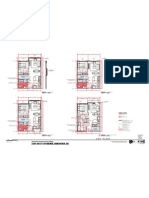 8th and Vine Redevelopment Plans - Bedroom Floor Plans 223 a 300