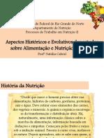 Aspectos Historicos e Evolutivos Dos Estudos Sobre Alimentação e Nutricao No Brasil (1)