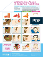 Earplug Instruction Poster - ES