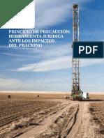 Principio de Precaucion. Herramienta Jurídica Ante Los Impactos Del Fracking