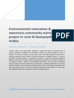 final report-environmental restoration and awareness community outreach project in rural al quwayiyah saudi arabia