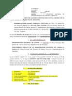 Modelo de demanda de desnaturalización de contrato