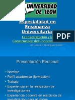 UDL_1_La Inv y Constr Del Conoc