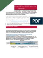 Guía de Instalación de SQL Server 2008 R2 Paso a Paso