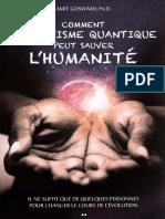 Comment l'Activisme Quantique Peut Sauver l'Humanité - Amit Goswami
