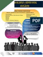Cartel 9a Feria Del Empleo y Servicio Social