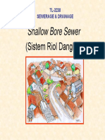 Shallow Bore Sewer