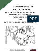 Curso de tuberías para plantas de proceso - 0209 Recipientes Horizontales