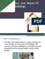 maintenanceandrepairofbuildings-140518003203-phpapp01