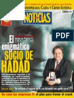 El enigmático socio de Hadad