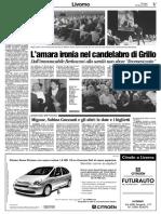Beppe Grillo a Livorno nel 2004