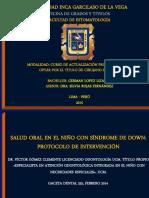SALUD ORAL EN EL NIÑO CON SINDROME DE DOWN PROTOCOLO DE INTERVENCIONN.pdf