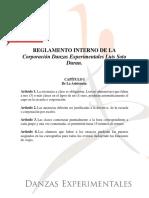 Reglamento Danzas Experimentales Luis Soto Duran