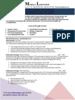 Sample Resume Book