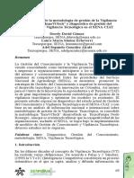 Fortalecimiento de La Metodologia Innovatech Y Diagnostico de Gestión Del Conocimiento y Vigilancia Tecnologica en SENA-CIAT