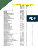 Fuel Pump Flow Rates