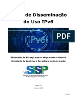 Plano de Disseminacao Uso IPv6 v1.7 Abril 2015