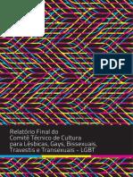 [Relatório] Comitê MINC LGBT