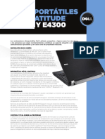 Dell Latitude Ultra Portable Customer Brochure Es