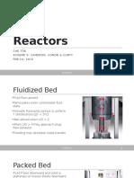 Reactors presentation
