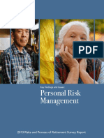 2014 2013 Key Findings and Isssues Personal Risk