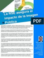 Artículo 15. La RSE asegura el impacto de a Imagen Pública