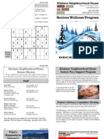 2009 December Seniors Newsletter