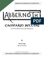 Abbernoth Campaign Setting