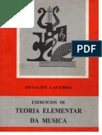 Osvaldo Lacerda - Exercícios de Teoria Elementar Da Música Part 1[1]